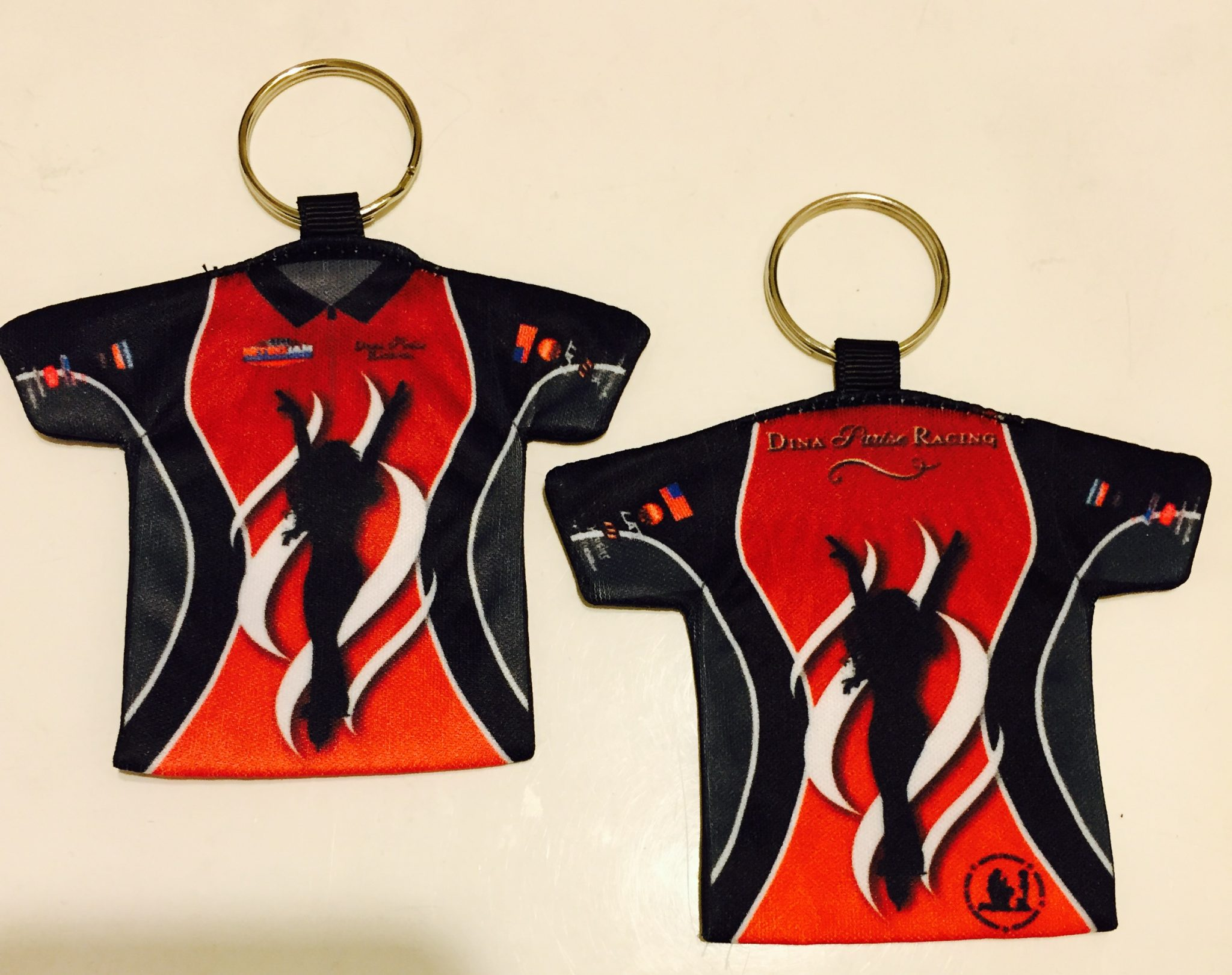 Dina Parise Racing Key Chains