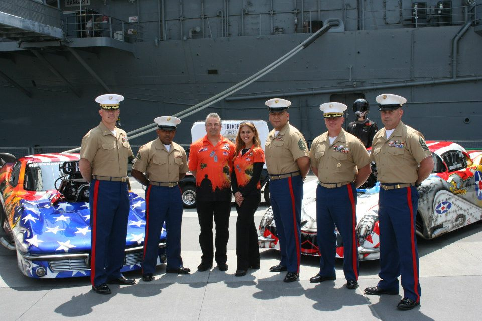 Dina Parise Racing Appearing at Fleet Week NYC!