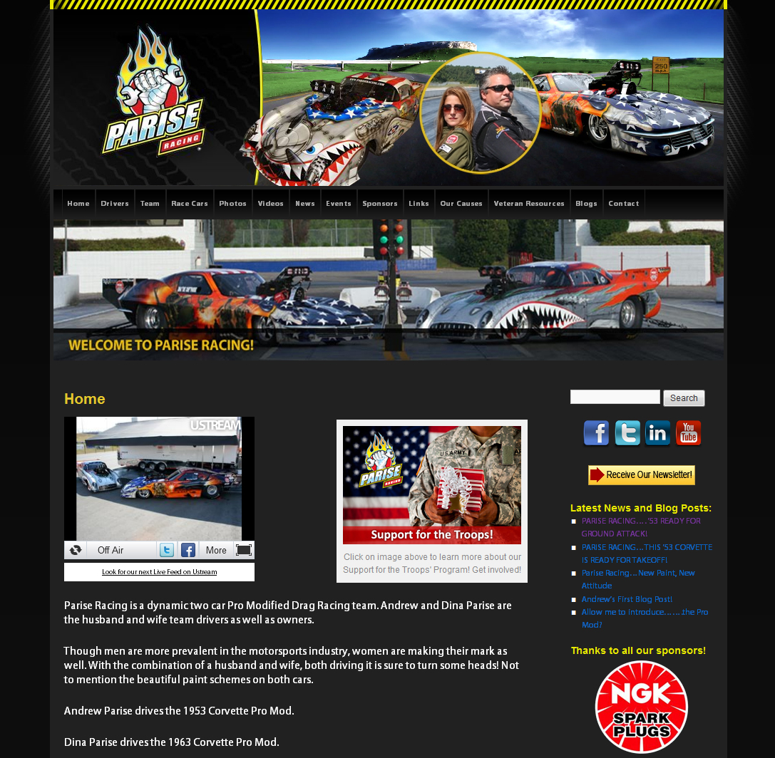 Parise Racing- It's all about the 'RE'-Launch!