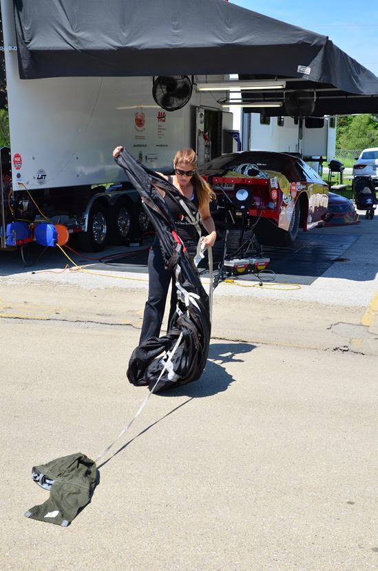 Cordova-IHRA-Summer Nationals-NitroJam-Dina Parise Racing - Pro Mod-May 2015 (12)