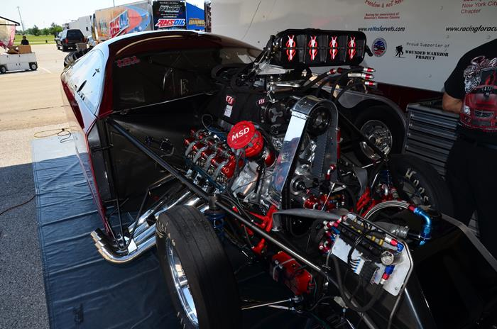 Cordova-IHRA-Summer Nationals-NitroJam-Dina Parise Racing - Pro Mod-May 2015 (3)