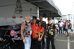 First Time Not a Charm for Parise Racing at NHRA Get Screened America Series Event