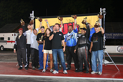 ANDREW PARISE WINS NHRA UNLEASHED; AFTER DEFEATING HIS WIFE IN THE SEMI-FINALS