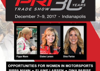 Women of Motorsports Seminar PRI 2017