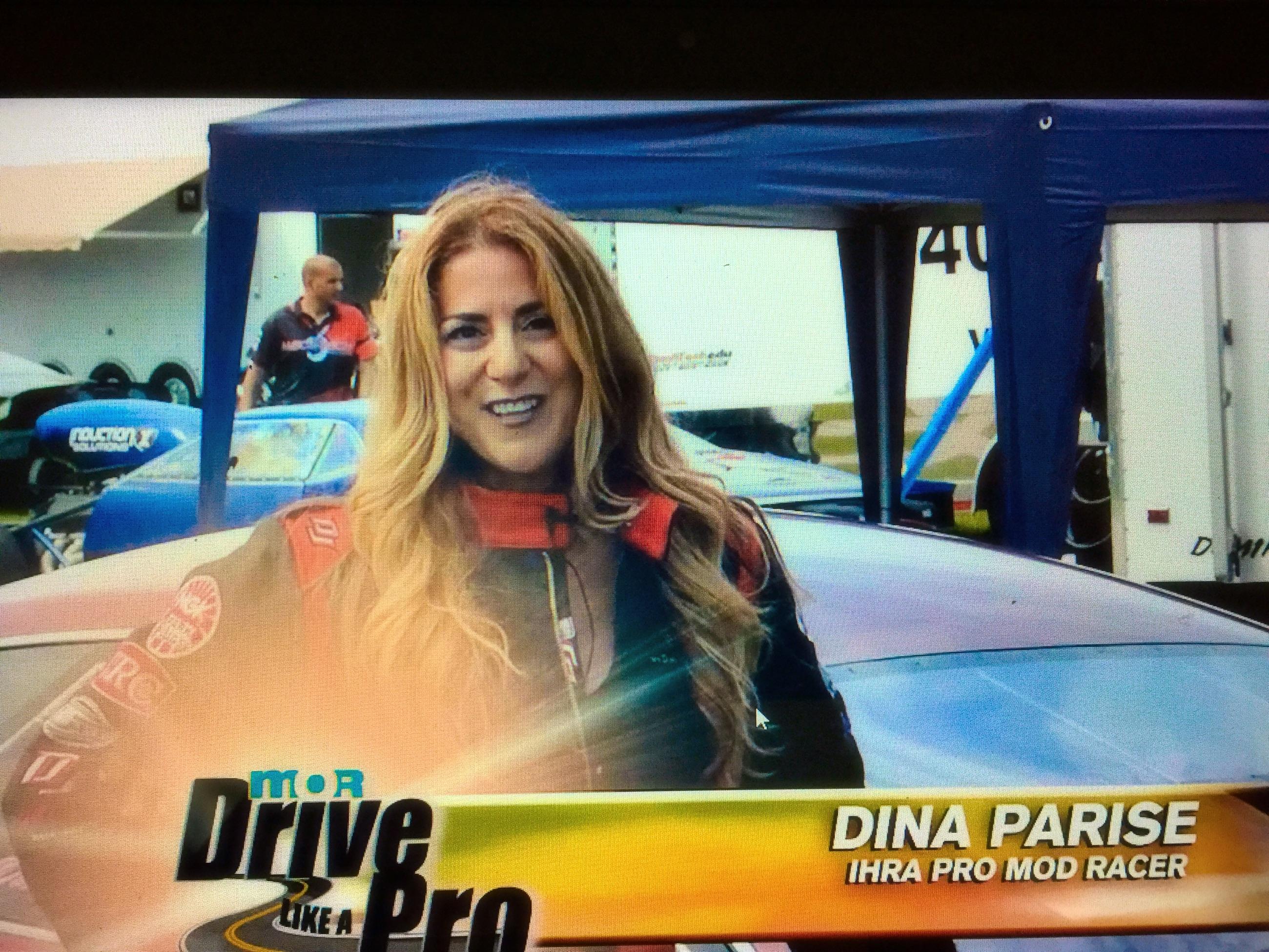 Dina Parise in MOR-TV Drive Like a Pro PSA