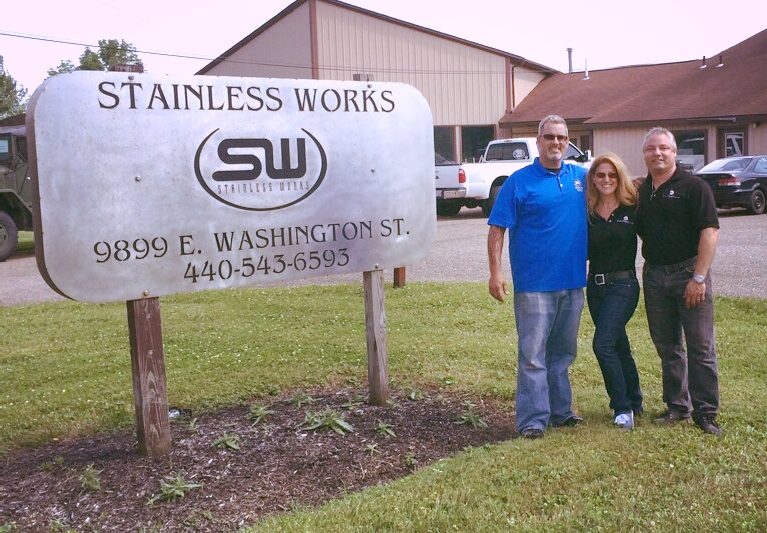 Dina Parise Racing Welcomes Stainless Works!