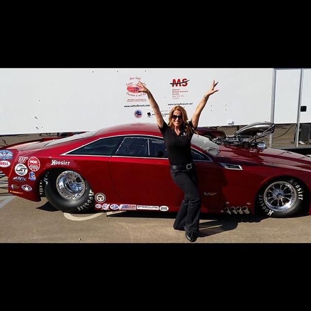 Dina Parise ; Float Like a Cadillac, Sting like a 'V' !